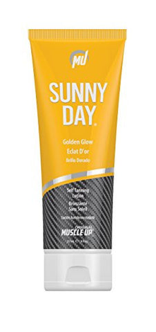 Sunny Day Golden Glow Self Tanning Lotion (8 fl. oz.) Pro Tan by Original Muscle Up