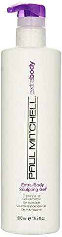 Paul Mitchell Extra-body Sculpting Gel, Thickening Gel, 16.9-ounce