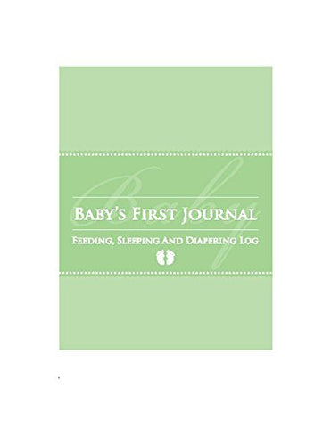 Glow Baby Baby's First Journal, Green