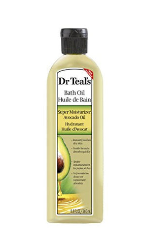 Dr. Teal's Body Oil, Super Moisturizer