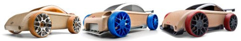 Automoblox Mini S9-R/C9-R/C9-S Vehicle  Burnt Orange/Silver Blue/Black Red