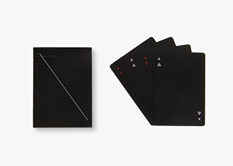 MINIM Playing Cards, Black