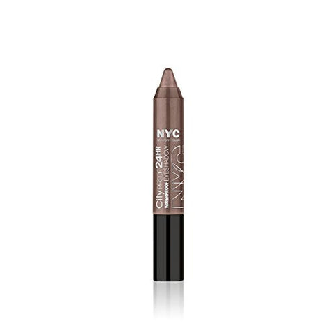 N.Y.C. New York Color City Proof 24 Hr Eye Shadow, Tribeca Taupe, 0.07 Ounce