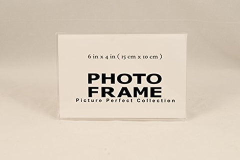 x4 Acrylic Picture Frames, Sign Holders Acrylic Photo frame horizontal (12)