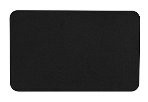 Skid-resistant Carpet Indoor Area Rug Floor Mat - Black - 2' X 3' - Many Other Sizes to Choose From