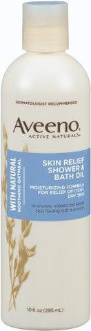 Aveeno Skin Relief Shower & Bath Oil 10 oz