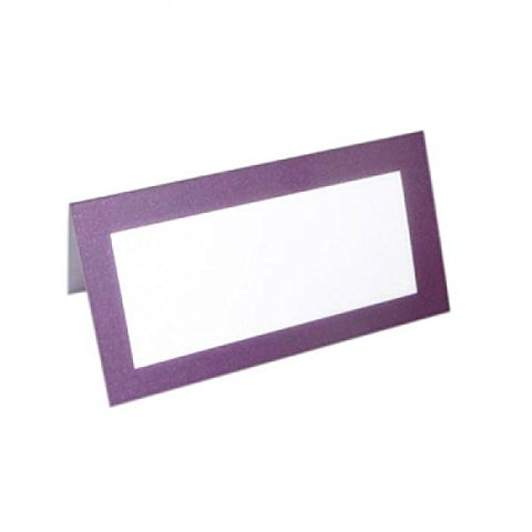 Purple Frame Place Cards
