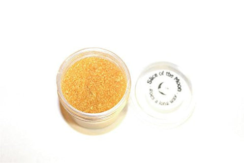 Royalty Golden Mica Powder 1oz, Gold Metallic Powder, Cosmetic Mica, Slice of the Moon