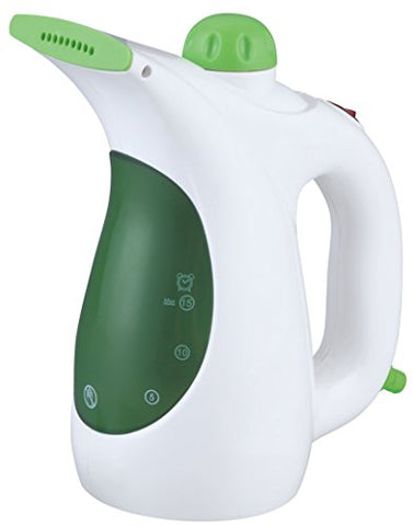 idee Portable Handheld Garment Steamer with Fabric Brush & Lint Remover for Home and Travel, PGS01G