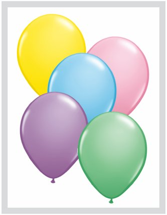 Pioneer Balloon Latex Balloons, 16 , Pastel Assortment