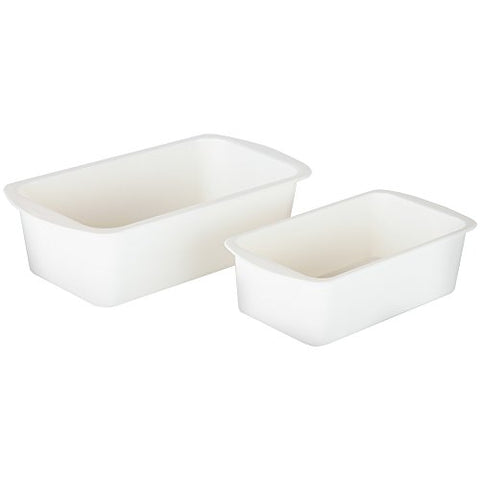 Home-X Microwave Loaf Pan. Set of 2 Includes 2 Sizes