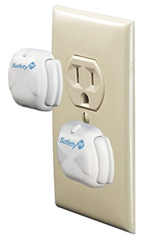 Safety 1st Deluxe Press Fit Outlet Plugs, 32 Count