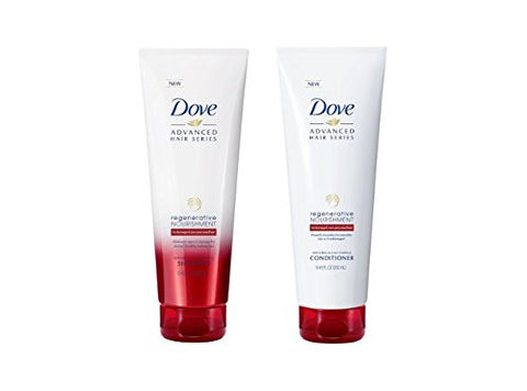 Dove Regenerative Nourishment Shampoo and Conditioner Set, 8.45 FL OZ each