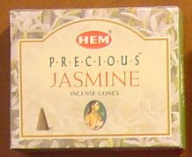 Precious Jasmine - Case of 12 Boxes, 10 Cones Each - HEM Incense From India