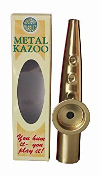 House of Marbles Premium Quality Metal Kazoo Hum to Play Musical Instrument
