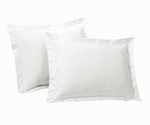 One Park Avenue Bedding Hotel Collection White Pillow Cases, Dimensions: 37  X 22.5  + 2  border (39  X 26.5 ) - (King)