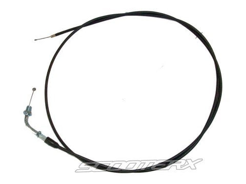 SCOOTERX 70 Universal Throttle Cable for Gas Scooter, Go Kart, Mini Bike