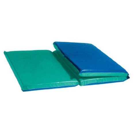 Two-Tone Deluxe Rest Mats - 1 Thick, 24 x 48 Tri-Fold