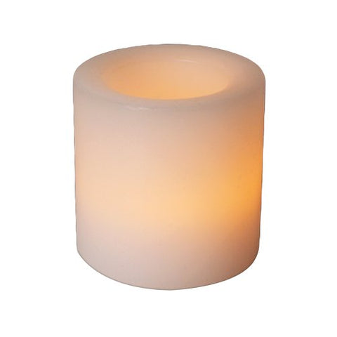 Fortune Products CL-800V Real Wax Votive LED Candle, 1-3/4  Width x 2  Height (Case of 24)
