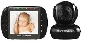 Motorola Video Baby Monitor with 3.5-Inch Color LCD Screen, Remote Camera Pan, Tilt, and Zoom (Brown Box)