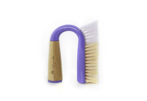 Full Circle Grunge Buster Grout and Tile Scrub Brush, Purple