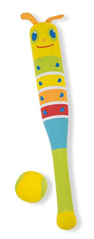 Melissa & Doug Sunny Patch Giddy Buggy Padded Bat and Soft Ball Set