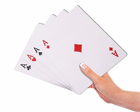 Jumbo Face Extra Large Playing Cards- 4.75  X 6.75  Big Full Deck