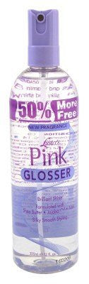 Luster's Pink Glosser with Shea Butter Bonus, 12 Ounce
