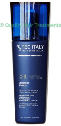 Tec Italy Shampoo Tonico fortifying for volume and resistance 10.1 oz