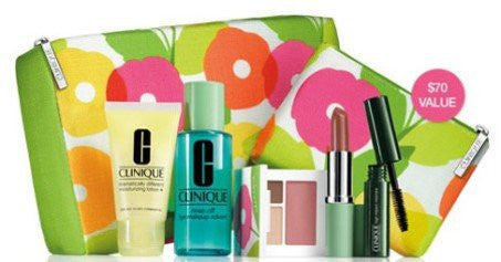 Clinique Makeup Skincare Gift Set, 5.0 Ounce