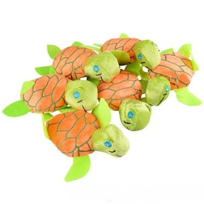 New! 6-Inch Mini Plush Sea Turtles Toy For Kids! Value