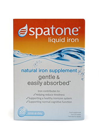 Spatone 100% Natural Iron Supplement 28 Sachets