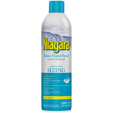 Niagara Fabric Finish Sizing Spray 20oz