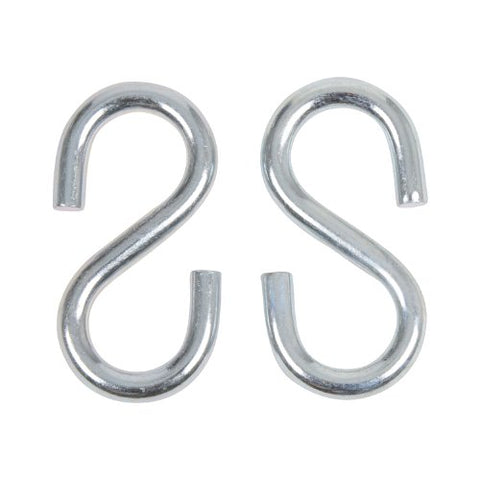 Swing Set Stuff 5/16 x 3 S-Hook (Pair) with SSS Logo Sticker