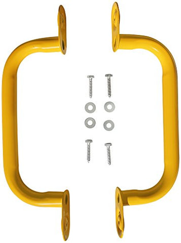 Jungle Gym Kingdom 15 Steel Safety Handles Pair - yellow