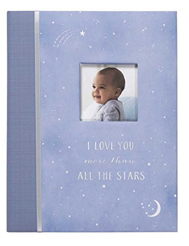 C.R. Gibson First 5 Years Memory Book, Record Memories and Milestones on 64 Beautifully Illustrated Pages - Wish Upon A Star