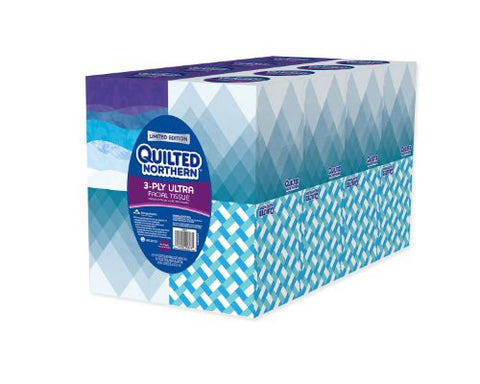 Quilted Northern 3-PLY Ultra Facial Tissue (16 boxes)