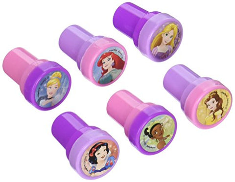 Disney Princess Dream Big Birthday Party Stamper Set Favour, Pink and Purple, Plastic , 1 x 1