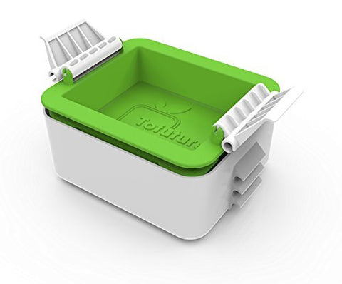 Tofu Press - a unique and stylish tofu press to transform your tofu by Tofuture