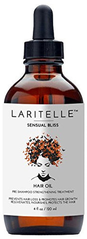 Laritelle Organic Hair Loss Prevention for Men & Women 4 oz | Fortifying, Strengthening & Rejuvenating Follicle Fuel | Prevents Hair Shedding, Promotes New Hair Growth & Scalp Health | GMO-free. Vegan