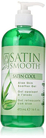 SATIN SMOOTH Satin Cool Aloe Vera Skin Soother 16.9 oz