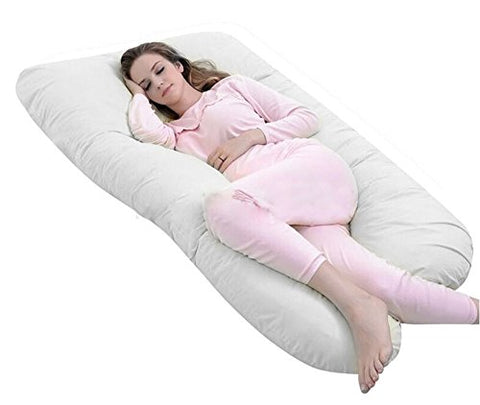 Queen Rose U Shaped Pregnancy Body Pillow Originally with Outer Cover