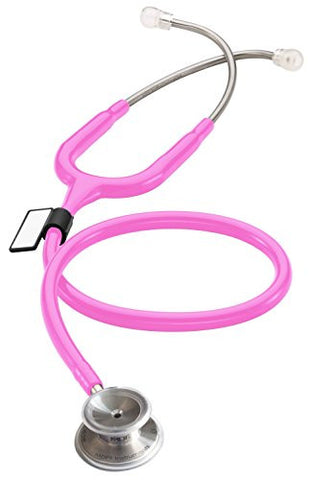 MDF MD One Stainless Steel Premium Dual Head Stethoscope - Fuschia (MDF777-32)