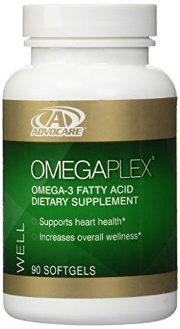 AdvoCare OmegaPlex Fatty Acid Dietary Supplement, 90 Softgels