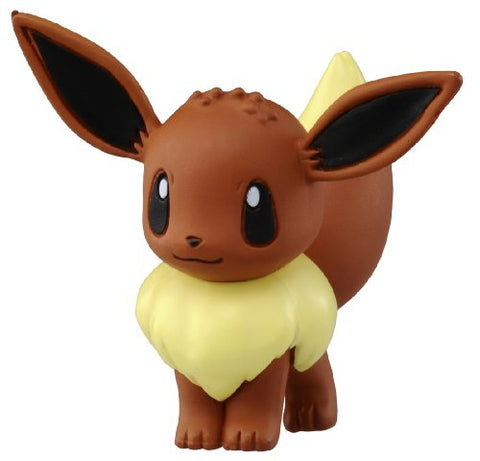 Takaratomy Official Pokemon X and Y MC-029 2 Eevee Action Figure