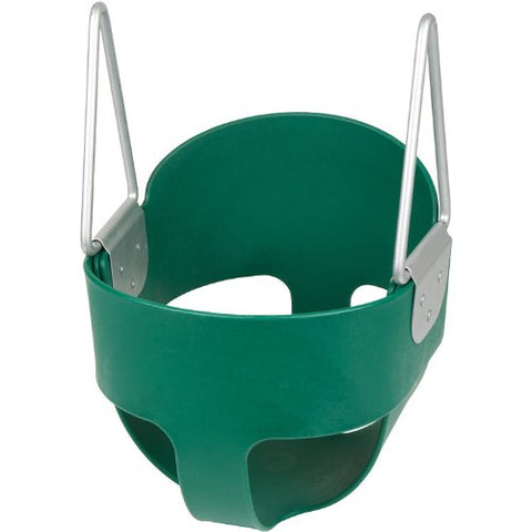Swing Set Stuff Highback Full Bucket (Green) -Seat Only- with SSS Logo Sticker