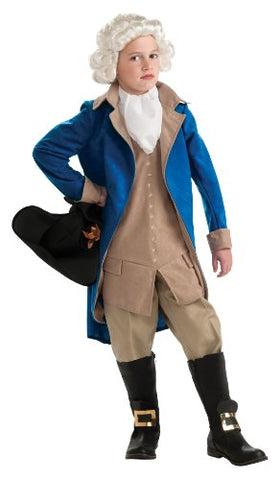 Rubie's Deluxe George Washington Costume - Large (8 to 10 years)