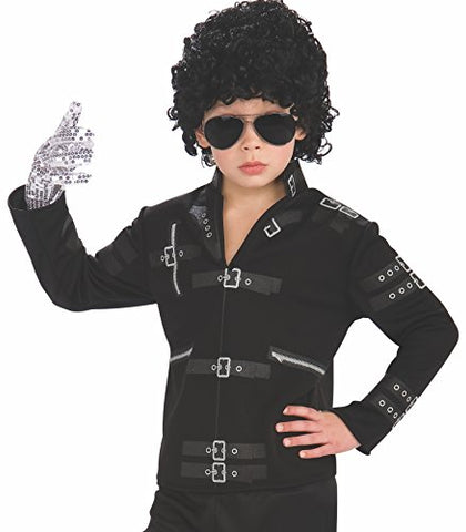 Michael Jackson Child's Value Bad Buckle Jacket Costume Accessory, Small