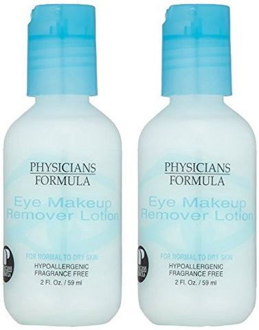 Physicians Formula Eye Makeup Remover Lotion for Normal to Dry Skin, 2 Fluid Ounce