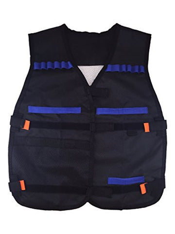 Fury Strike Tactical Nerf Vest with 20 Refill Darts for Nerf N-Strike Elite Series